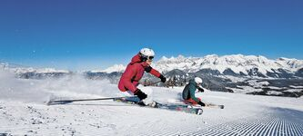 Skiing at its best at Apparthotel Bliem